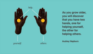 Helping Yourself = Helping Others