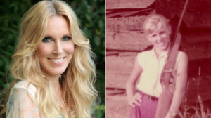Alana Stewart now and as a young girl in Texas Alana Stewart
