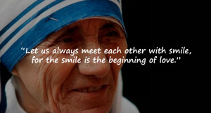 Remembering Mother Teresa through some of her prominent quotes ...