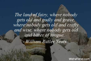 fairy-The land of fairy, where nobody gets old and godly and grave ...