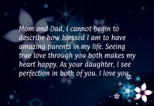 Parents Anniversary Quotes From Daughter