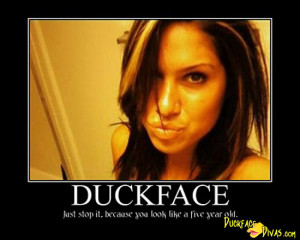 duckface 230 Honey Badger Dont Care