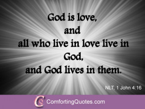 Religious Quotes About God Bible quotes about love. god