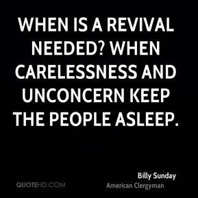 Revival Quotes Billy Sunday
