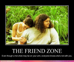 hot chick puts you in the friendzone