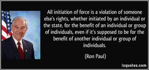 by an individual or the state, for the benefit of an individual ...
