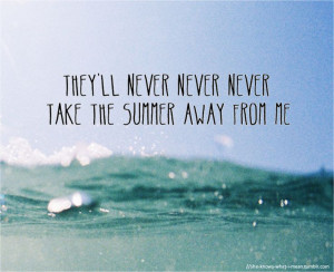 Summer Beach Quotes Sayings Wallpaper