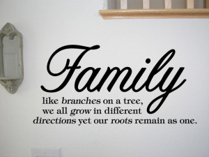 FAMILY-LIKE-BRANCHES-ON-A-TREE-Vinyl-Wall-Quotes-Sayings-Words ...
