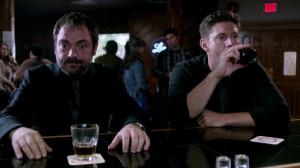 ... Dean Winchester Jensen Ackles Crowley Mark Sheppard Growley Squirrel