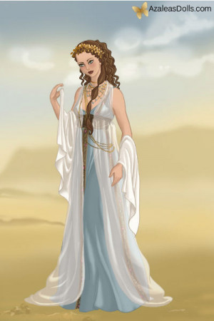 Portrait The Greek Goddess