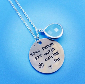 ... People Are Worth Melting For Frozen Olaf The Snowman Quote Inspired