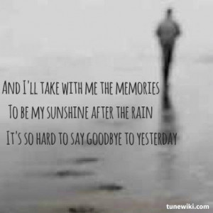 Leave Without Saying Goodbye Quotes. QuotesGram