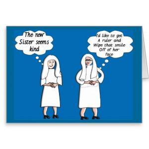Funny Nun Cards