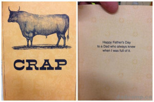 The Worst Father's Day Card Themes: Dads Swear, Fart, And Fix Things