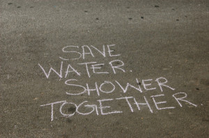 cute, funny, humore, quotes, save water, saying, shower, text ...