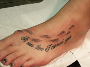 28 Elegant Foot Tattoos For 2013