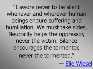 Night Elie Wiesel Holocaust Quotes
