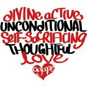 LOVE!!!! Agape Love :)