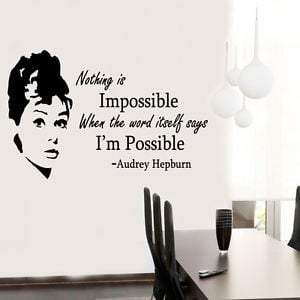 ... -Quote-celebrity-vinyl-Wall-Stickers-Art-Room-Removable-Decals-DIY