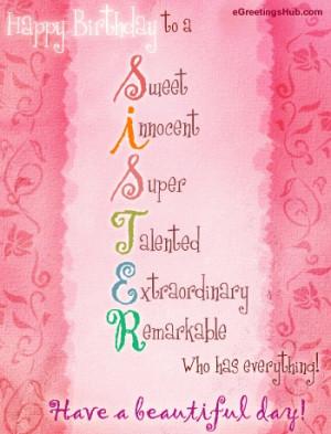 happy birthday sister quotes happy birthday sister quotes happy ...