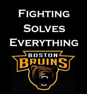 boston bruins sayings   Boston Bruins