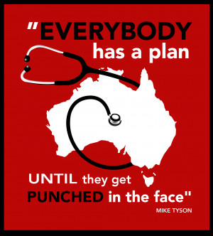 mike tyson Tyson Everyone Has A Plan T-Shirt
