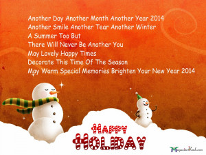 Happy holiday quotes pictures