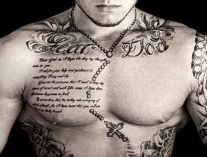 Best Chest Tattoos For Men Good Quotes For Chest Tattoos Tattoo