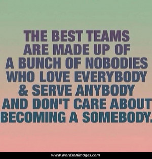 Positive team quotes
