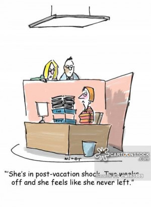 Back To Work After Vacation Quotes Back To Work cartoon 1 of 16