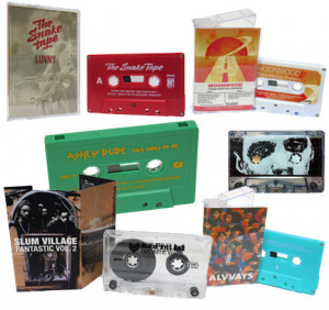 We do real-time audio cassette copies directly from your master or ...
