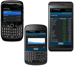 BSEIndia is now available on BlackBerry Phone