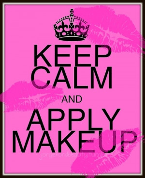 calm, girl, girly, keep, make, pink, quote, quotes, sayings, up