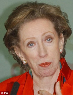 ... her to Lady Tottington (right) and Margaret Beckett were hurtful