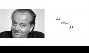 Jack Nicholson Famous Movie Quotes
