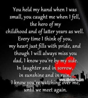 Miss you so much Dad