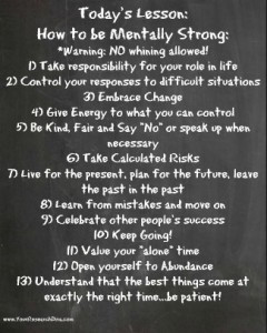 11-20-13 How to be mentally strong - success quotes