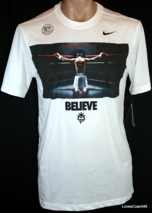 Details about Nike Manny Pacquiao QUOTE Mens T-Shirt