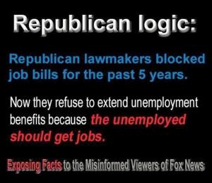 Republican hypocrisy on jobs