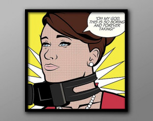 Archer Inspired Pop Art Cheryl Tunt Quote Print // by TheGeekerie on ...