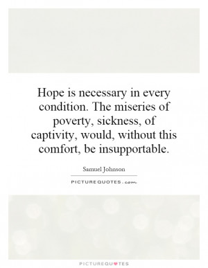 Hope Quotes Samuel Johnson Quotes