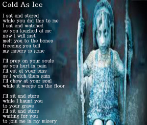 Creepy Love Poems