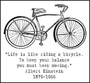 Cycling quotes, because we like bikes