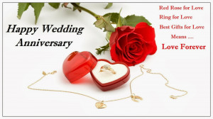 This is Quotations Pictures about Happy Wedding Anniversary, Red Rose ...
