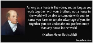 More Nathan Meyer Rothschild Quotes