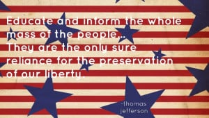 Thomas Jefferson, an American Founding Father and the third President ...