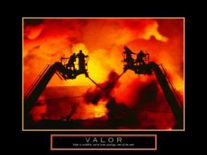 Firefighter Valor Print Art