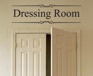 ... Quote-Vinyl-Sticker-Art-Lettering-Decoration-Dressing-Room-Closet-O13