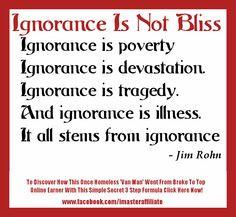 Rohn Quotes, Pictures Quotes, Quotes Ignored