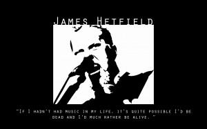 James Hetfield of Metallica by Knudiboj